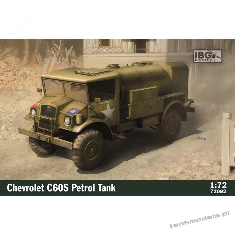 Chevrolet C60S Petrol Tank - IBG 72092