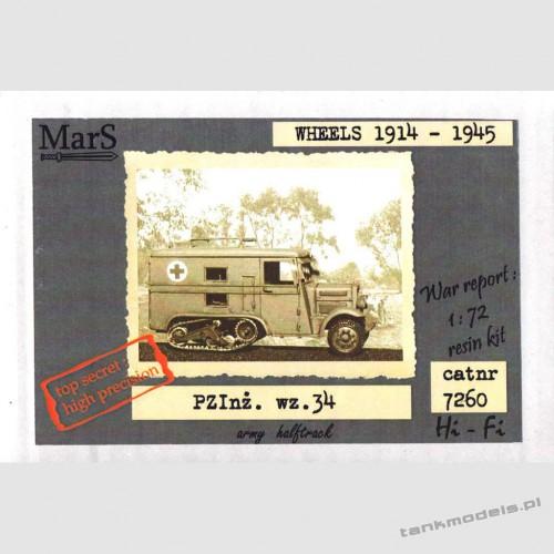PZInż. wz.34 ambulance - Mars 7260