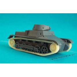 Panzer I Ausf B układ jezdny - Modell Trans 72014