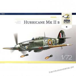 Hawker Hurricane Mk II b Model Kit - Arma Hobby 70043