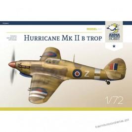Hawker Hurricane Mk II b trop Model Kit - Arma Hobby 70044