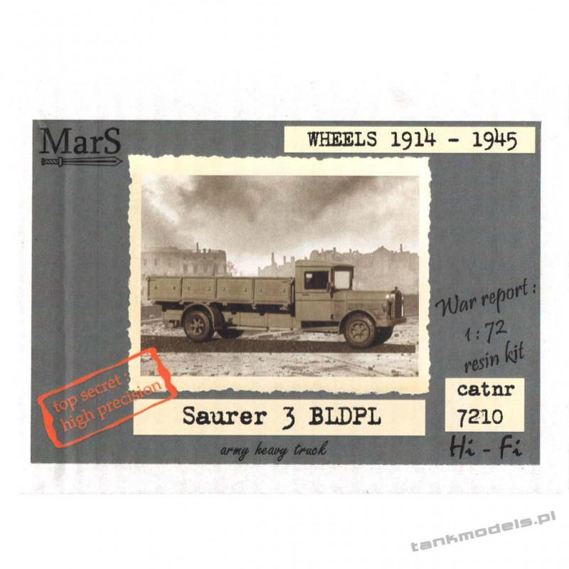 Saurer 3BLDPL Heavy Polish army truck - Mars 7210