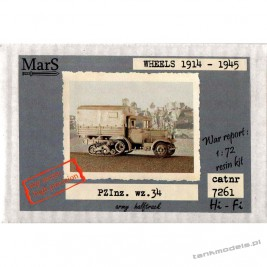 PZInż. wz.34 halftrack - Mars 7261