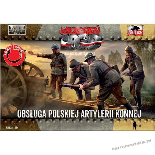 Obsługi polskiej artylerii konnej - First To Fight PL1939-84