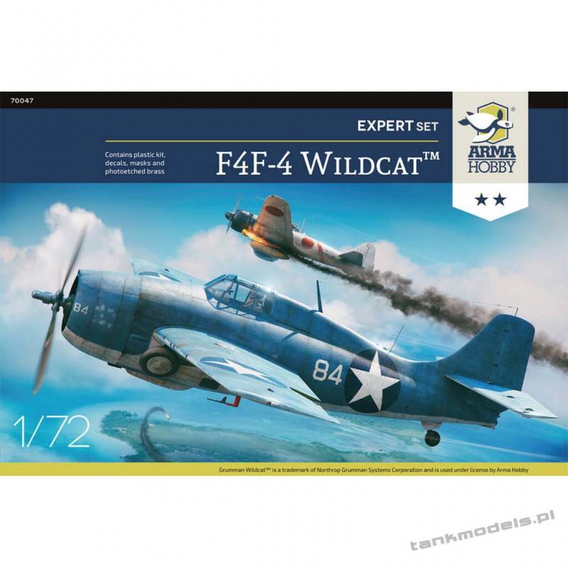 Grumman F4F-4 Wildcat Expert Set - Arma Hobby 70047