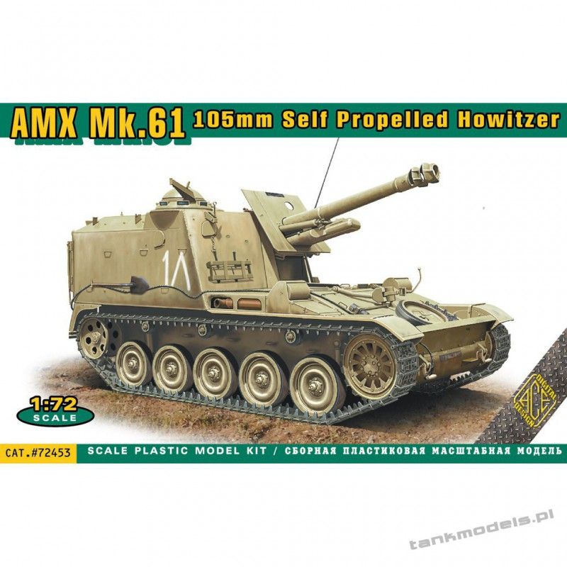 AMX MK 61 105mm Self Propelled Howitzer - ACE 72453