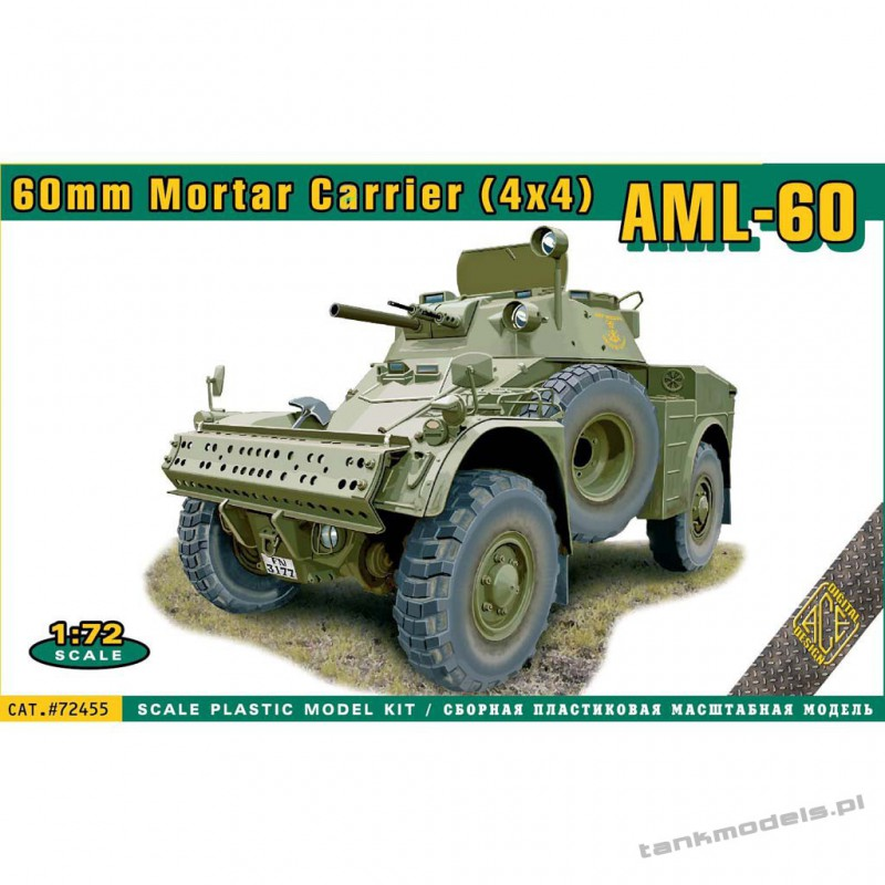 AML-60 Mortar Carrier 4x4 - ACE 72455