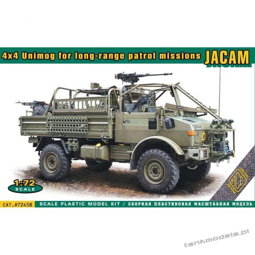 JACAM 4x4 UNIMOG for long-range patrol mission - ACE 72458