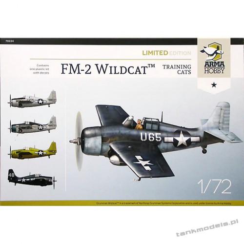Grumman FM-2 Wildcat Training Cats Limited Edition - Arma Hobby 70034
