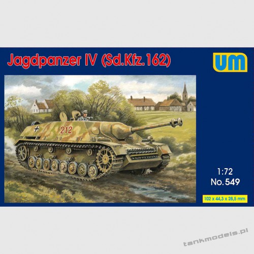 Sd.kfz. 162 Jagdpanzer IV 75 mm PaK 40 L/43 - Unimodels 549