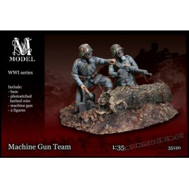 German Machine Gun Team WW I - M Model 35120