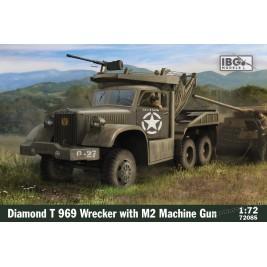 Diamond T 969 Wrecker with M2 Machine gun - IBG 72085