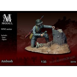 "German Trooper ""Ambush"" WW I - M Model 35124"