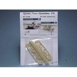 M 13/40 Carro Armato (tracked gear) - Modell Trans 72300