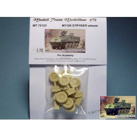 M1126 Stryker wheels for Academy - Modell Trans MT 72123
