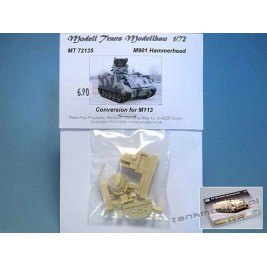 M901 Hammerhead (conv. for M 113) - Modell Trans MT 72135