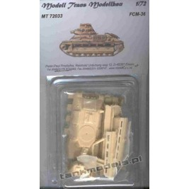 FCM 36 French Light Tank - Modell Trans 72033