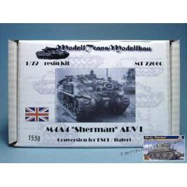 M4A4 Sherman ARV I (conv. for Italeri) - Modell Trans MT 72060