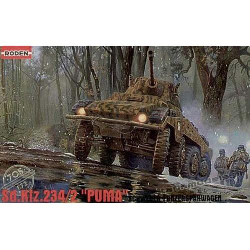 """Sd. Kfz. 234/2 """"Puma"""" - Roden 705"""