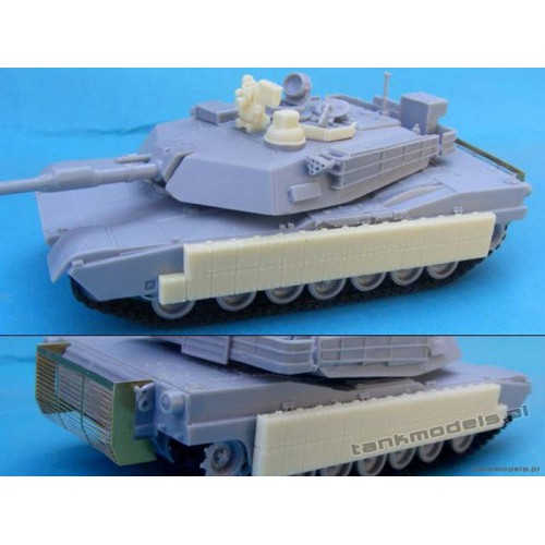 M1A2 Abrams TUSK I (conw. for Dragon) - Modell Trans 72154