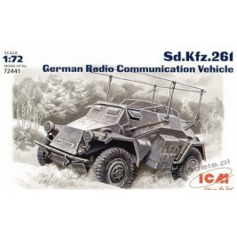 Sd.Kfz. 261 German Radio Communication Vehicle - ICM 72441