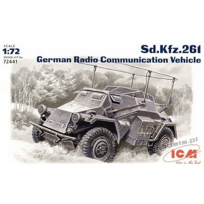 Sd.Kfz. 261 German Radio Communication Vehicle