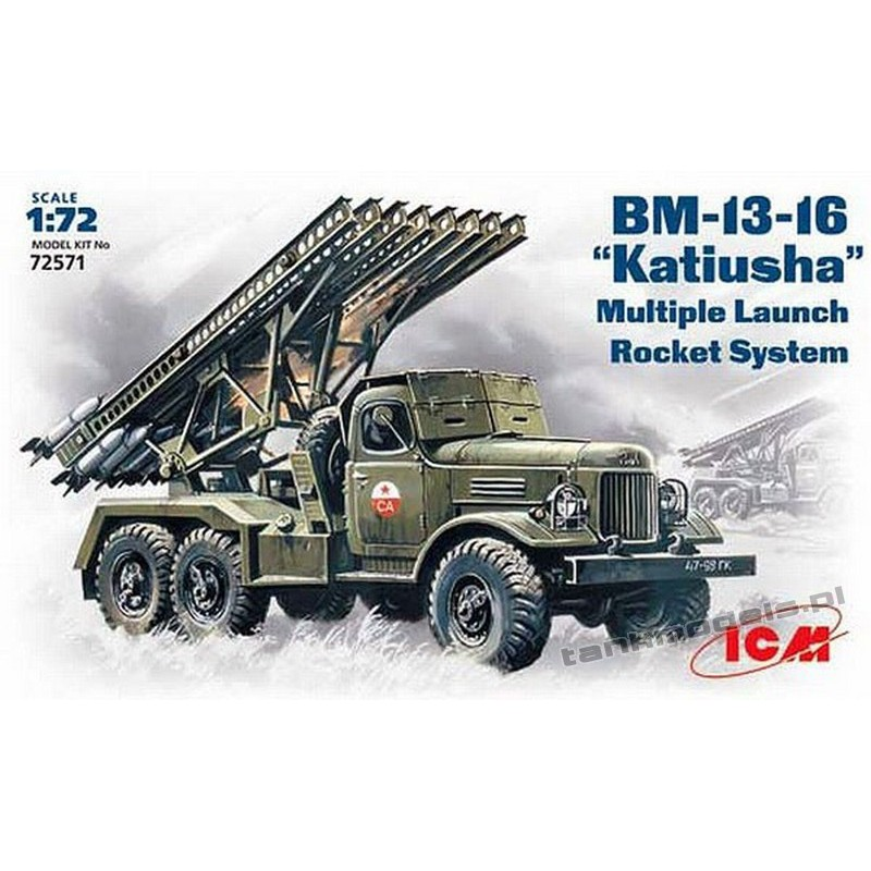 "BM-13-16 ""Katyusha"" Multiple Launch Rocket System on ZiL-157 base"