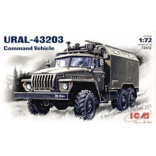 Ural-4323 Command Vehicle - ICM 72612