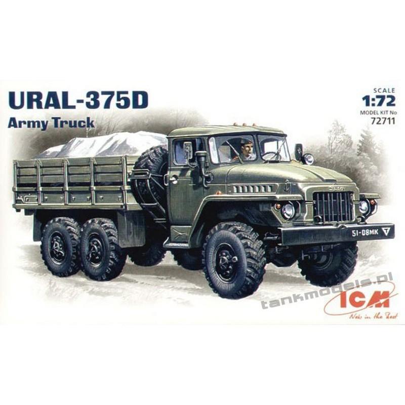 Ural 375D Army Truck