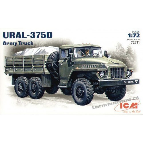 Ural-375D Army Truck - ICM 72711