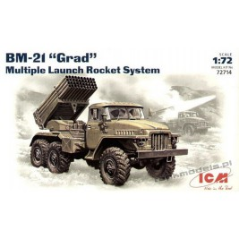 "BM-21 ""Grad"" Multiple Launch Rocket System"