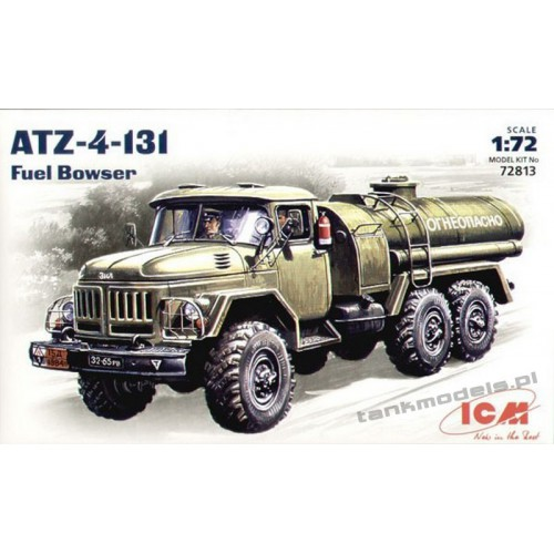 ZiL-131 with ATZ-4 Fuel Bowser - ICM 72813