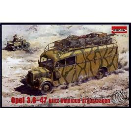 Opel 3,6-47 Blitz Omnibus Stabswagen
