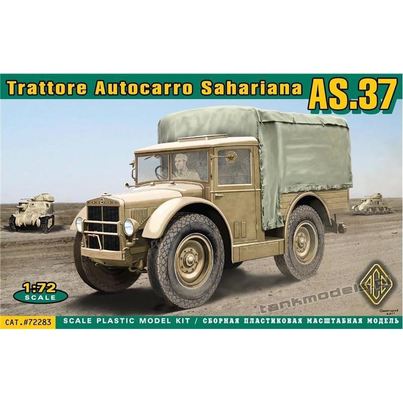 Trattore Autocarro Sahariano AS.37 TL-37