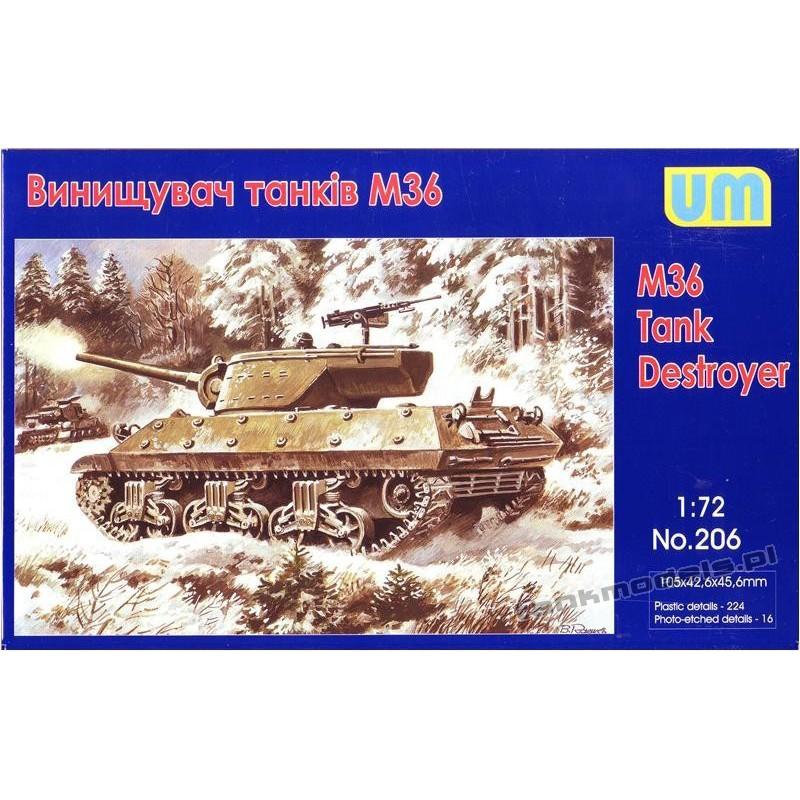 M36 tank destroyer