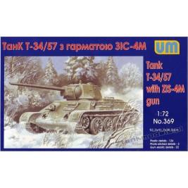 T-34/57 with ZIS-4 - UniModels 369