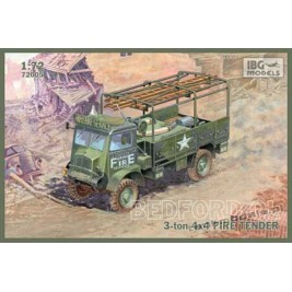 Bedford QLR 3 ton 4x4 Fire Tender - IBG 72005
