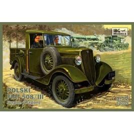 Polski Fiat 508/III Furgon - IBG 72009