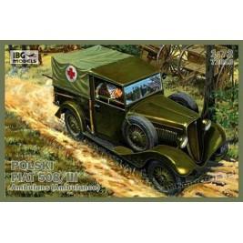 Polski Fiat 508/III Ambulans - IBG 72010