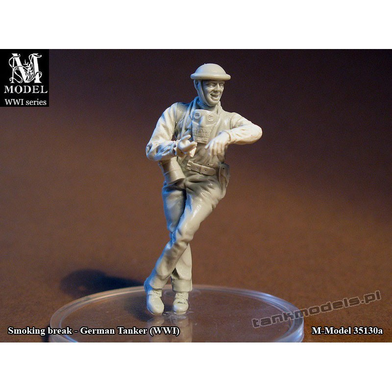 "German Tanker - ""Smoking break"" (WWI) - M Model 35141"