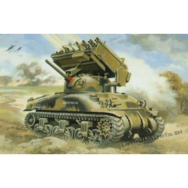 Sherman M4А1 with M17/4.5 inch rocket launcher - UniModels 224