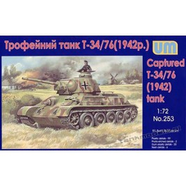 Captured T34/76 ( m. 1942)