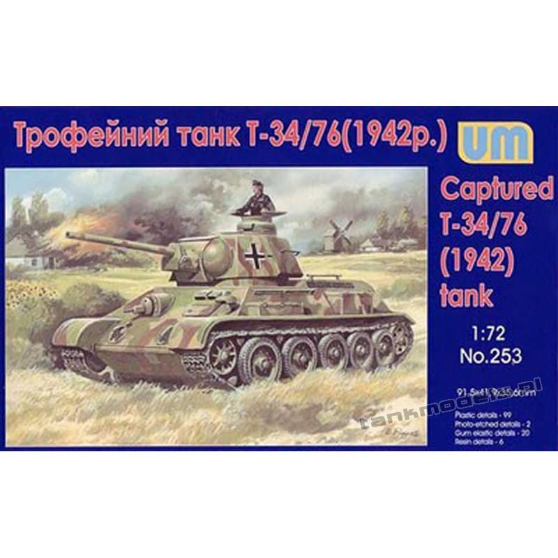 Captured T34/76 ( m. 1942)
