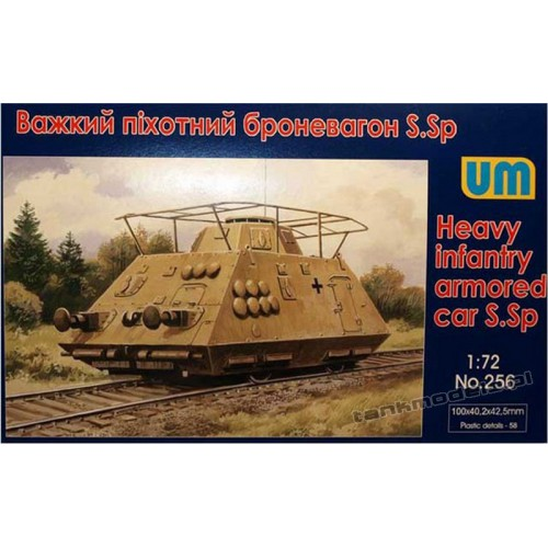 Heavy infantry armored car S.Sp Radio - UniModels 256