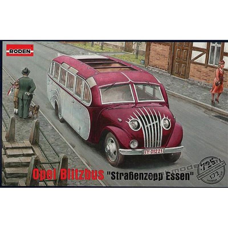 """Opel Blitz """"Strassenzepp Essen"""" omnibus - Roden 725"""
