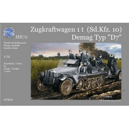 "Sd.kfz. 10 1t Demag Typ ""D7"" - MK72 7201"