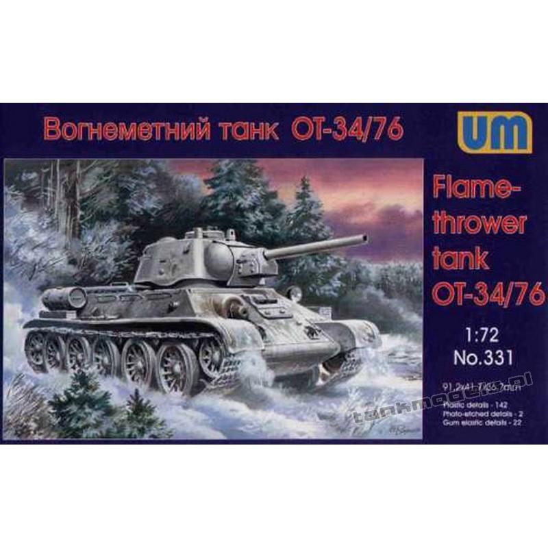 OT-34 ( T-34/76 z miotaczem ognia)