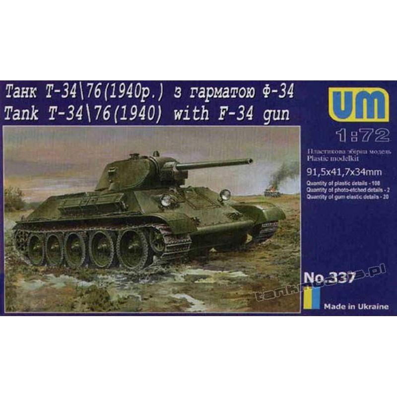 T-34/76 m.1940 z armatą w/ F-34
