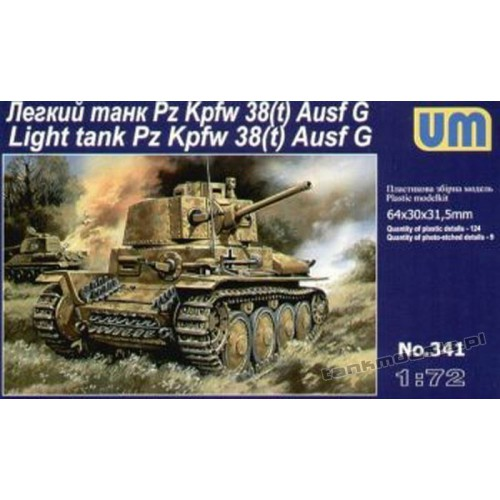 Panzer 38(t) Ausf. G - UniModels 341