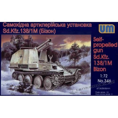 Bison Sd.Kfz. 138/1 Ausf. M - UniModels 346